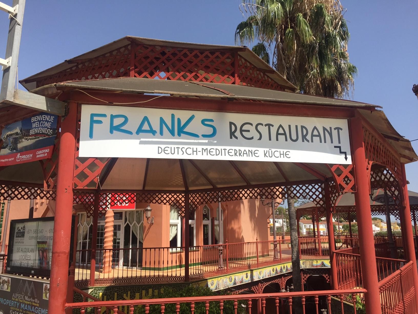 franks restaurant marbella