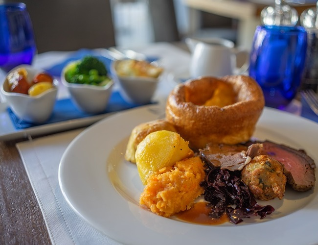 2 Course Sunday Roast with a drink